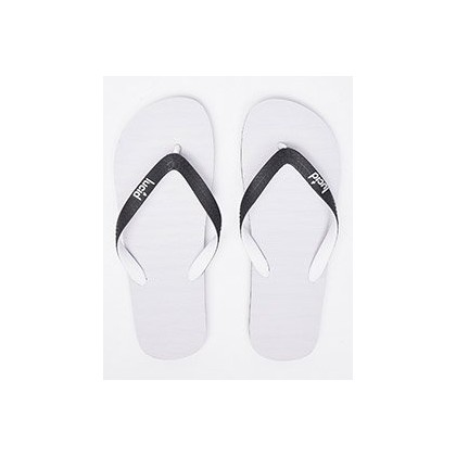 Elite V6 Thongs in White/Black by Lucid
