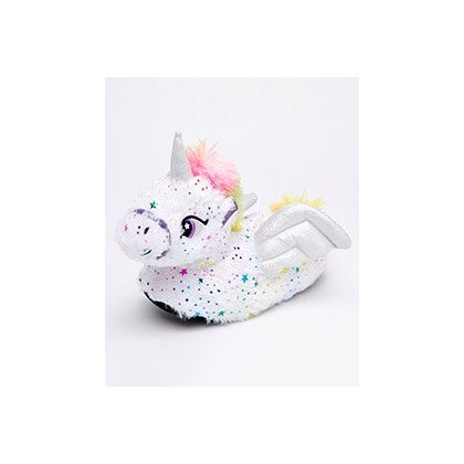 "Stars Unicorn Slippers in ""White""  by GET IT NOW"