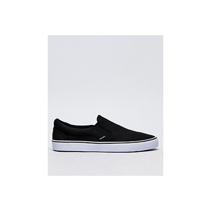 "Heritage Slip-on Shoes in ""Black Textile""  by Jacks"