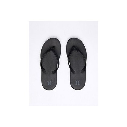 "One & Only Sandal in ""Black/White-Anthracite""  by Hurley"