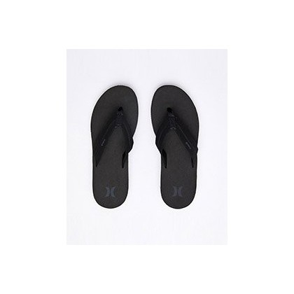 "Lunar Sandals in ""Black/Dk Grey-Dk Grey""  by Hurley"