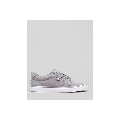 Anvil Shoes in Light Grey by DC Shoes