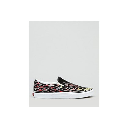 CSO Shoes in Flames Black/True White by Vans