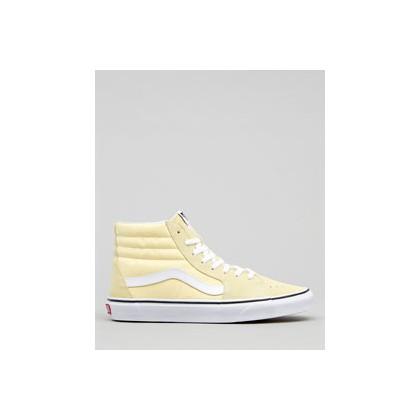 "Sk8-Hi Shoes in ""Vanilla Custard/White""  by Vans"