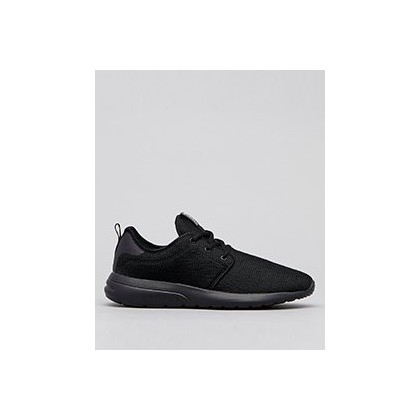 Bristol Shoes in All Black Knit by Lucid