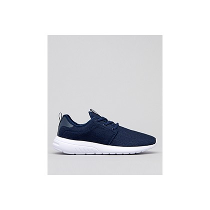 "Bristol Shoes in ""Navy/White Knit""  by Lucid"