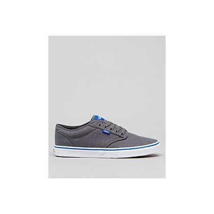 Atwood Shoes in Pewter/Lapis Blue by Vans