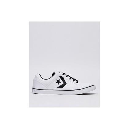 Distrito Shoes in White/Black/White by Converse