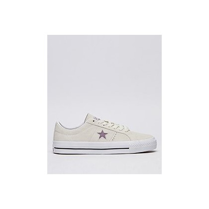 Womens One Star Shoes in Egret/Violet by Converse