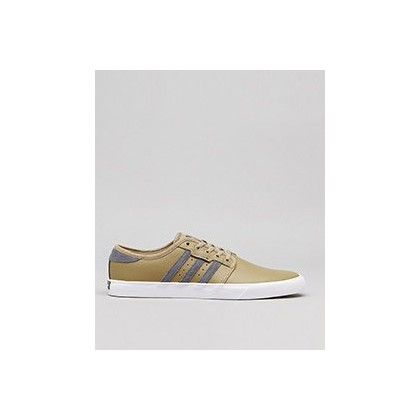 Womens Seeley Shoes in Hemp/Grey/White by Adidas