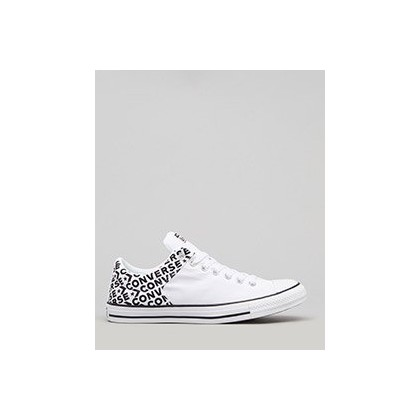 Chuck Taylor High Street in White/Black/White by Converse
