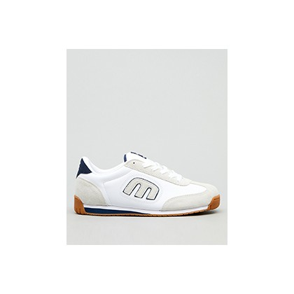 "Lo-Cut II Shoes in ""White/Navy/Gum""  by Etnies"