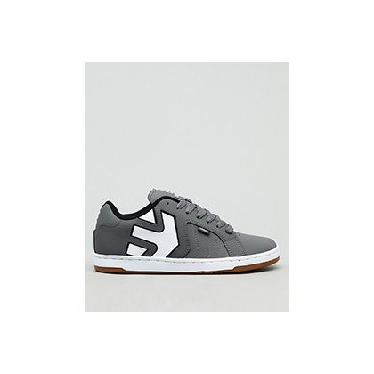 Fader 2 Lo-Cut Shoes in Grey/White by Etnies