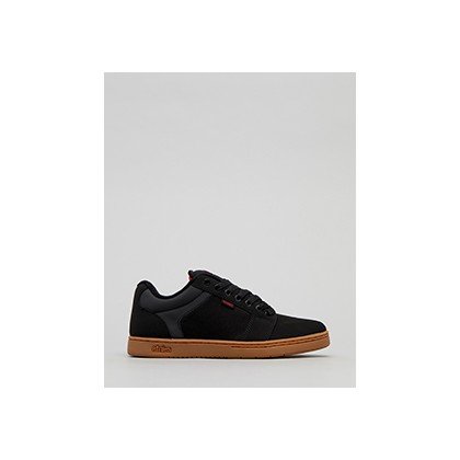 "Barge XL Lo-Cut Shoes in ""Black/Gum""  by Etnies"