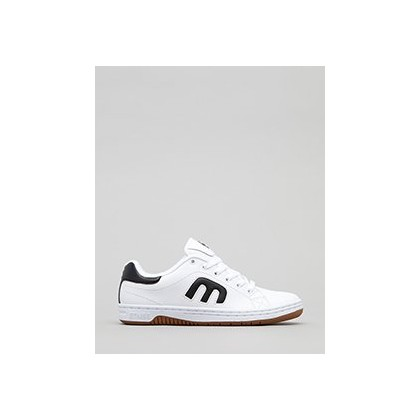 Callicut Lo-Cut Shoes in White/Black/Gum by Etnies