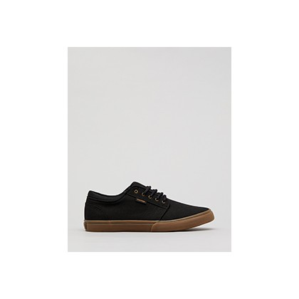 "Remark Lo-Cut Shoes in ""Black/Gum""  by Kustom"
