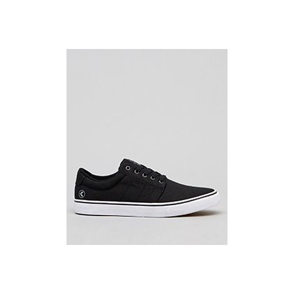 Layday Lo-Cut Shoes in Black by Kustom