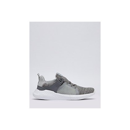 Salvage Knit Shoes in Light Grey/White Knit by Lucid