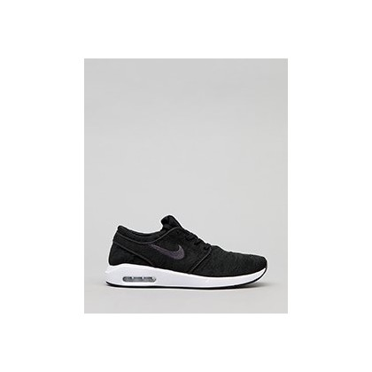 Janoski Air Max 2 Shoes in Black/Anthracite-White by Nike
