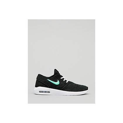 "Janoski Air Max 2 Shoes in ""Black/Mint-Black""  by Nike"