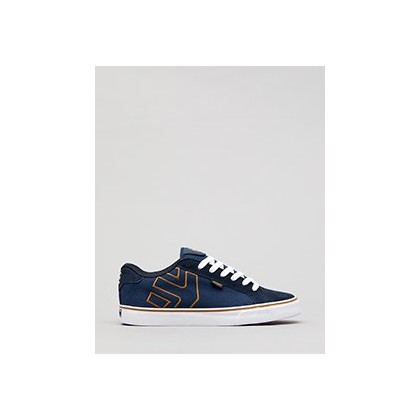 Fader Shoes in Navy/Gum/White by Etnies