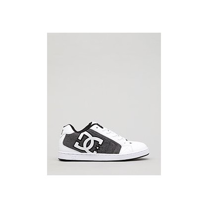 Net Shoes in White Smooth by DC Shoes