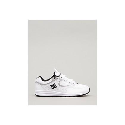 """Kalis Lite SE Shoes in """"White/Black/Black""""  by DC Shoes"""
