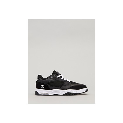 "Maswell Shoes in ""Black/Black/White""  by DC Shoes"