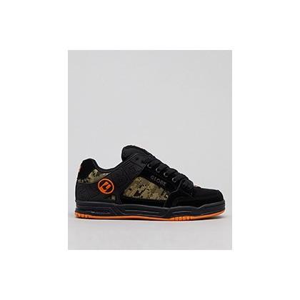 Tilt Shoes in Black/Camo/Orange by Globe