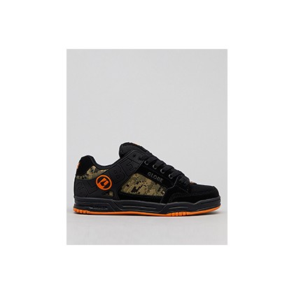 "Tilt Shoes in ""Black/Camo/Orange""  by Globe"