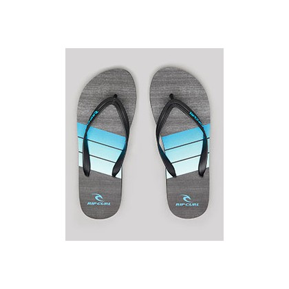 "Futures Thongs in ""Black/Blue""""Black/Lime""""Black""  by Rip Curl"