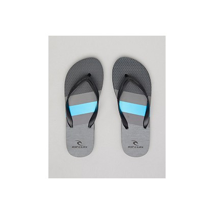 "Rise Thongs in ""Black/Grey""""Black""  by Rip Curl"