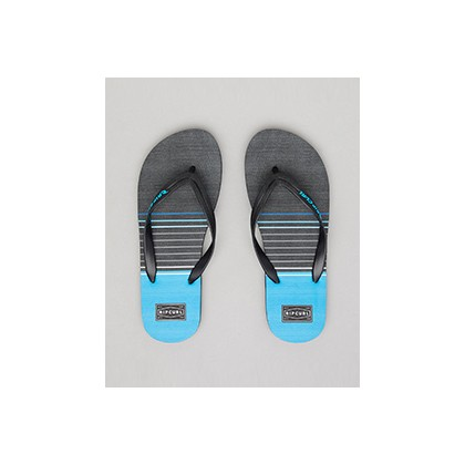 "Riser Thongs in ""Black/Blue""""Black""  by Rip Curl"