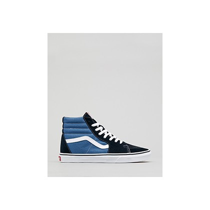 "Sk8-hi Hi-Top Shoes in ""Navy""  by Vans"