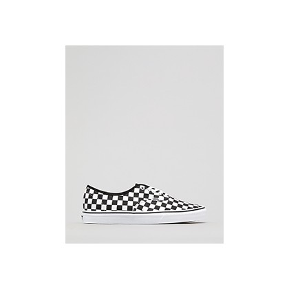 "Authentic Shoes in ""(Checkerboard) Black/Whit""  by Vans"