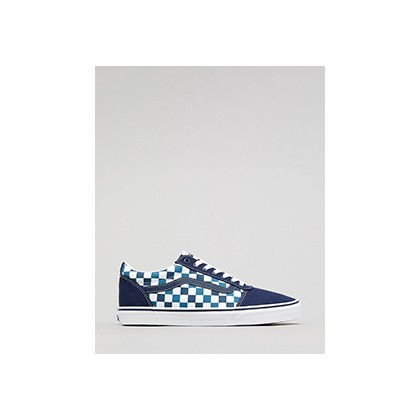 "Ward Checkerboard Shoes in ""(Checkerboard)Dress Blues""  by Vans"