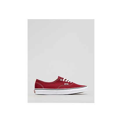 "Authentic Shoes in ""Rumba Red/True White""  by Vans"
