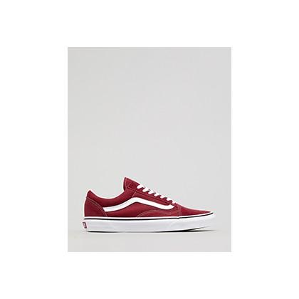 """Old Skool Shoes in """"Rumba Red/True White""""  by Vans"""