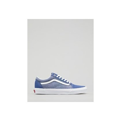 Old Skool Shoes in (Chambray) Canvas True Na by Vans