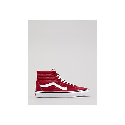 "Sk8-hi Hi-Top Shoes in ""Rumba Red""  by Vans"