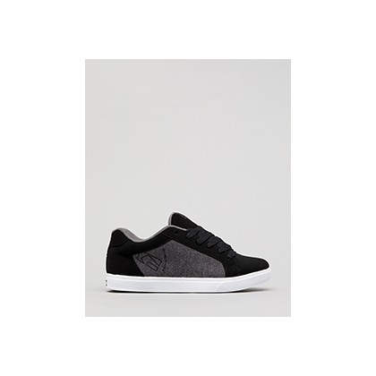 "Detour Shoes in ""Black/Grey/Chambray""  by Globe"