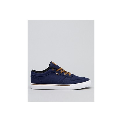"Newhaven Shoes in ""Navy Twill""  by Globe"