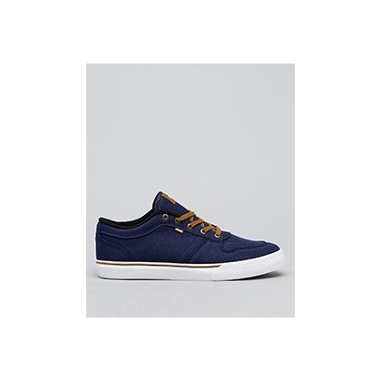 Newhaven Shoes in Navy Twill by Globe