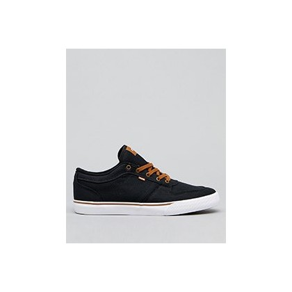 Newhaven Shoes in Black Twill by Globe
