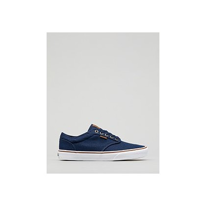 Atwood Shoes in Dress Blues/White by Vans
