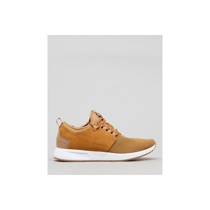 Bromley Shoes in Camel/Black by Lucid