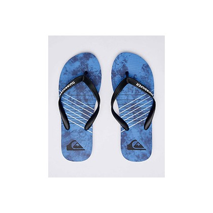 "Molokai Shibori Thongs in ""Black/Blue/Blue""  by Quiksilver"