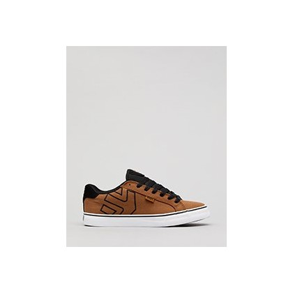 Fader Shoes in Brown/Black/White by Etnies