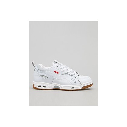 Women's CT-IV Classic Shoes in White/Gum by Globe