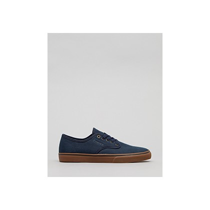 "Wino Standard Shoes in ""Navy/Gum/Gold""  by Emerica"